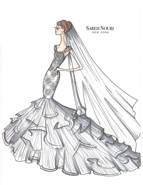 fashion sketch book fashion designer s ultimate companion books from sketch to gown wedding dress designer sketches by
