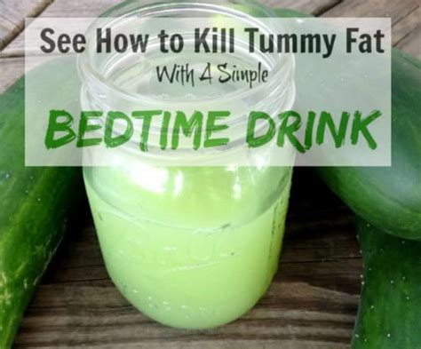 Best Detox Drink Before Bed by Best 25 Burning Drinks Ideas On Easy