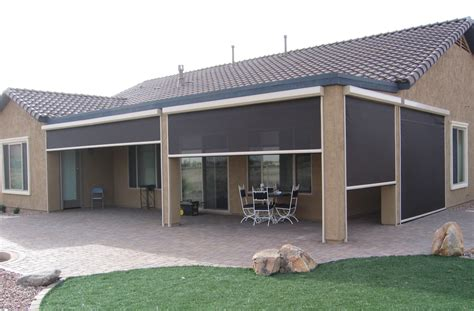 drop down awnings alexander custom screens retractable screen systems for