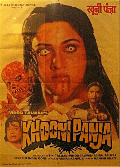 film india old old indian horror film movie posters khooni panja