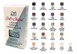 wella color charm chart wella color charm chart