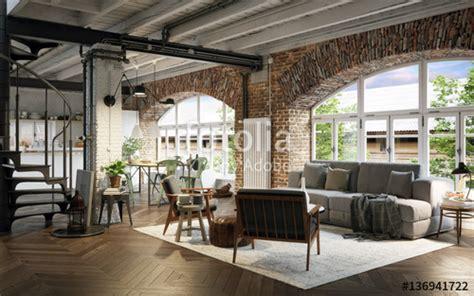Maison D Architecte En Bois 2433 by Quot Renoviertes Industrie Loft Vintage Industrial Loft