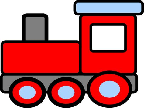 Clipart Trains cohens birthday clip at clker vector clip