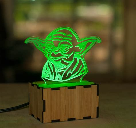 awesome lights awesome star wars acrylic night lights sci fi design