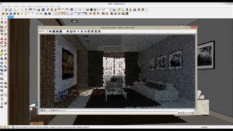 tutorial vray sketchup luces curso ead sketchup vray aula ilumina 231 227 o norte
