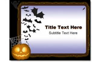 free halloween template the powerpoint blog