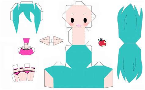 Miku Papercraft - miku hatsune romeo and cinderella papercraft by