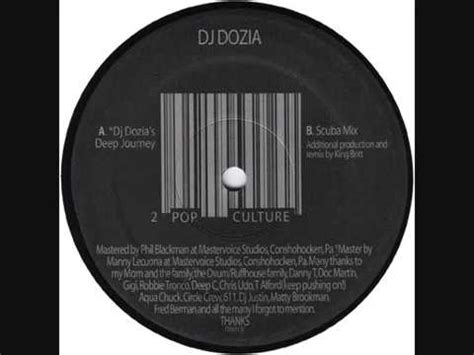 Scuba Mix dj dozia quot pop culture quot scuba mix