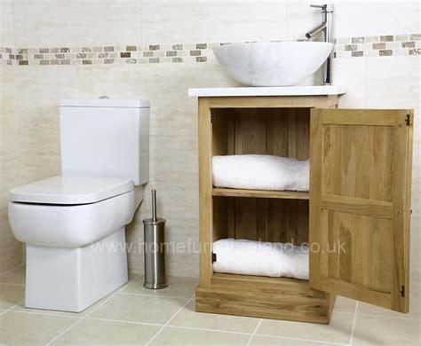 50 oak vanity unit with white marble top bathroom