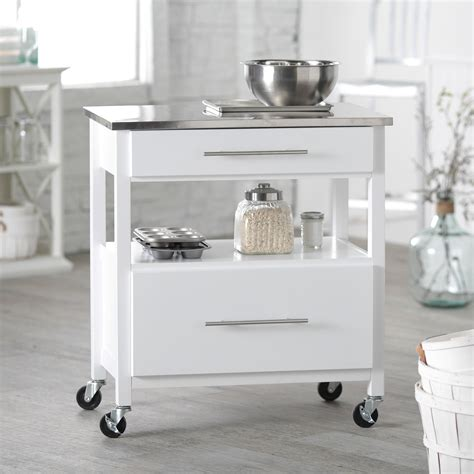 the top secret details about stainless steel kitchen cart