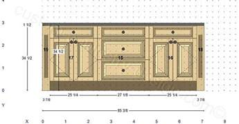 kitchen island cabinet plans cabinetry floor plan elevations design layouts to build cabinets