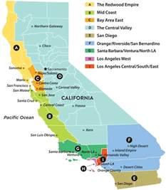 regional map of california national association of social workers california