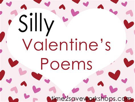 valentines poem silly poems s with words poems for children