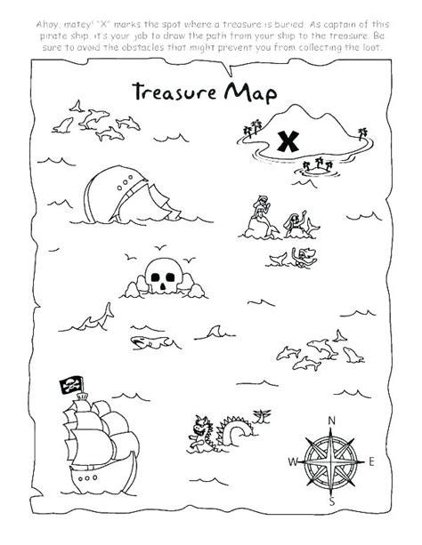 Printable Pirate Treasure Map