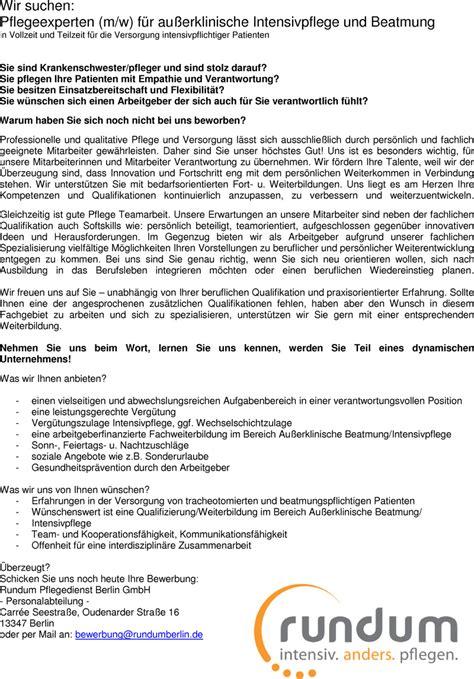 Anschreiben Ausbildung Jobb Rse berlin teilzeit in berlin stellenangebote