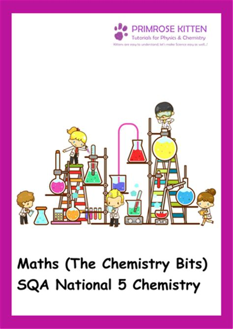 libro national 5 chemistry with maths the chemistry bits for sqa national 5 chemistry including answers by pkscienceandmaths
