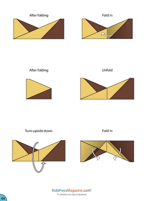 Medium Level Origami - paper airplane aerobatic