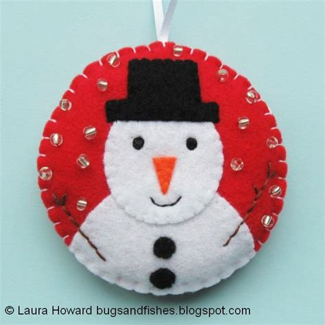 bugs and fishes by lupin christmas ornament tutorial sew