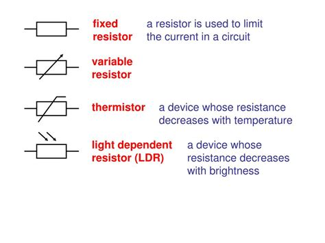 fixed resistor ppt fixed resistor gcse 28 images ppt aqa gcse physics 2 5 current electricity powerpoint
