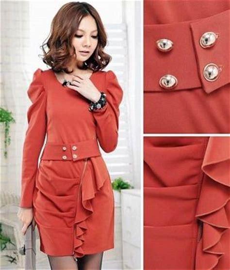 Baju Dress On787635 Line Dress dress modern maret 2012