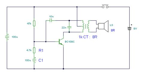 electronic hobby circuits electronic canary tutorial circuits sound