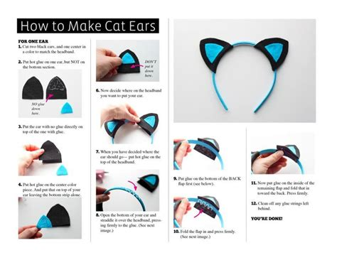 printable animal ears headbands 25 best ideas about diy cat costume on pinterest cat
