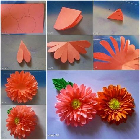 Paper Flowers Paket Menujuhalal1 1 paper flower crafty cool pappersblommor
