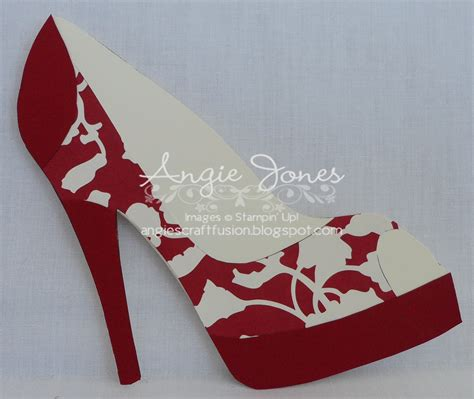 high heel shoe template for card high heel shoe card gif 1600 215 1350 patterns templates