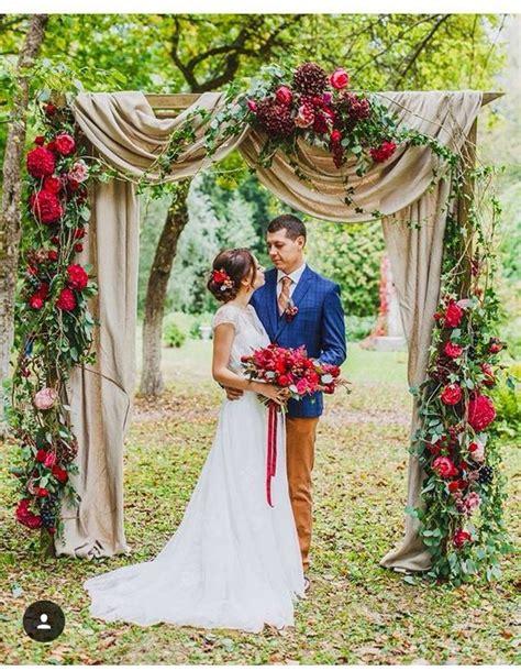 7 Ideas For A Fall Wedding by Best 25 Fall Wedding Arches Ideas On Diy