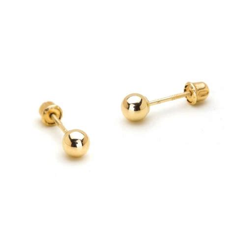 gold earrings for baby boy beautify themselves with earrings