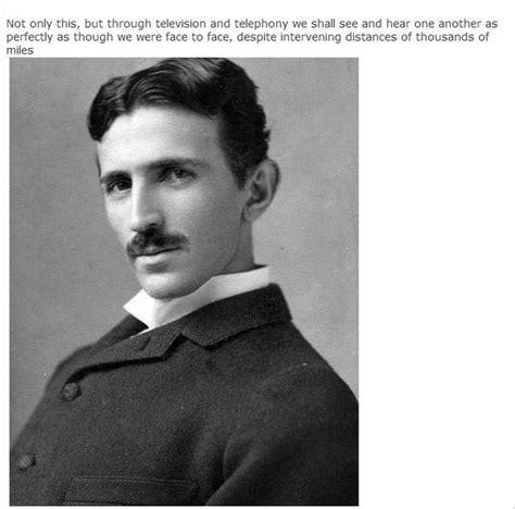 Nikola Tesla Cell Phone Nikola Tesla Predicted The Invention Of The Smartphone