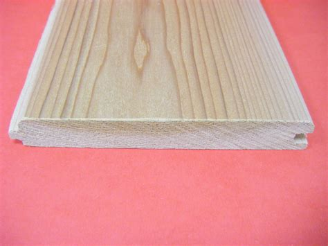 Tanalised Tongue And Groove Wood Western Cedar No2 Clear And Better Ex 25mm X 150mm T G
