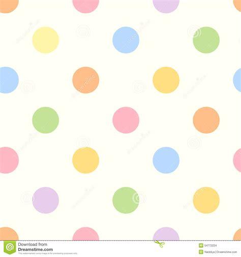 dot pattern pastel seamless colorful polka dot pattern stock vector image
