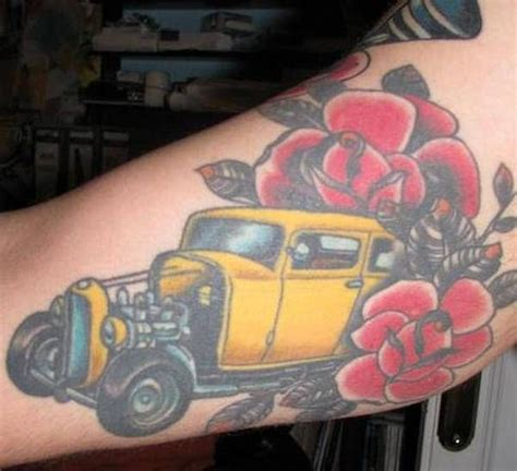 tattoo of hot rods 1000 ideas about hot rod tattoo on pinterest harley
