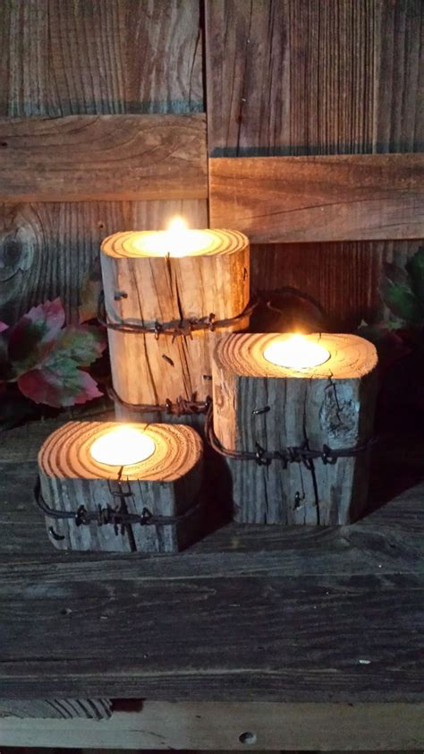 25 best ideas about rustic candles on candle