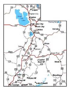 road map printable 4 best images of printable road map of utah utah road