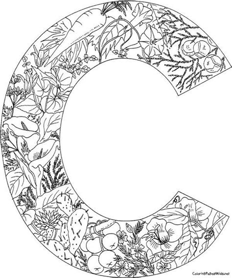 printable mandala letters daily colouring pages alphabet google search a c