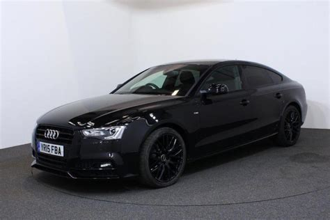Audi A5 Black by 2015 Audi A5 2 0 Tdi Black Edition Plus Sportback