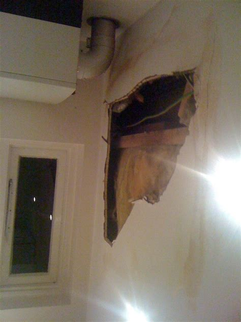 Fix Water Damaged Ceiling by Water Damaged Ceiling Repair In Kitchen Kitchen Fitting