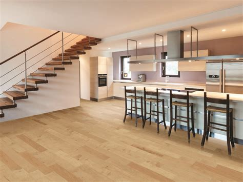 natural hickory floor kitchen contemporary kitchen with natural hickory floors