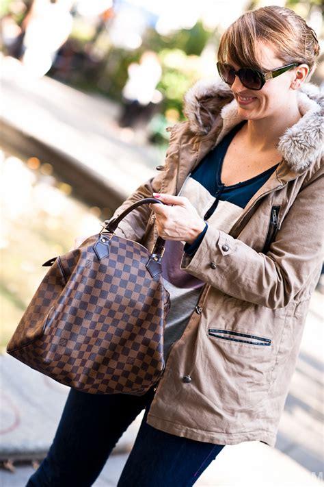 Lv Bando Louis Vuitton Damier purseonals louis vuitton damier ebene speedy 30cm purseblog