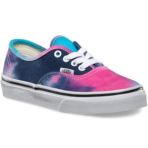 Vans Authentic Tie Dye Color vans toddler authentic tie dye shoes