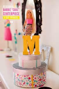 Christmas Wedding Centerpiece Ideas - diy tutorial barbie birthday party centerpiece idea hostess with the mostess 174