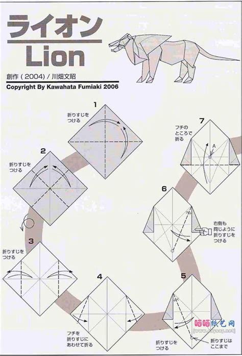 tutorial origami lion 790 best origami fun images on pinterest origami paper