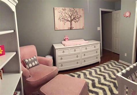 gray and pink nursery decor pink and grey elephant nursery project nursery