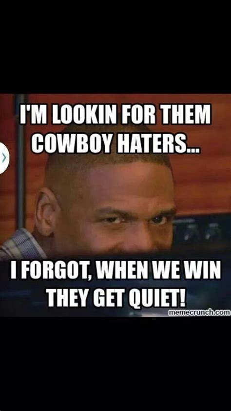 Cowboy Haters Memes - best 25 dallas cowboys haters memes ideas on pinterest