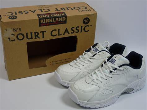 kirkland athletic shoes new s kirkland signature court classic athletic shoes