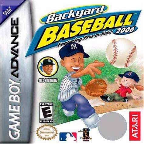Backyard Baseball Gba by Backyard Baseball 2006 Boy Advance Ign