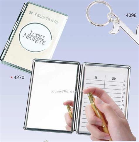mirror picture book inquiry chrome cover telephone address book w mirror