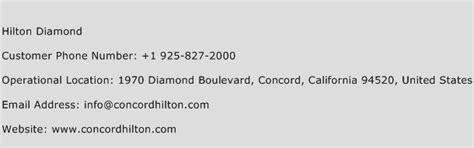 hilton diamond number hilton diamond customer service